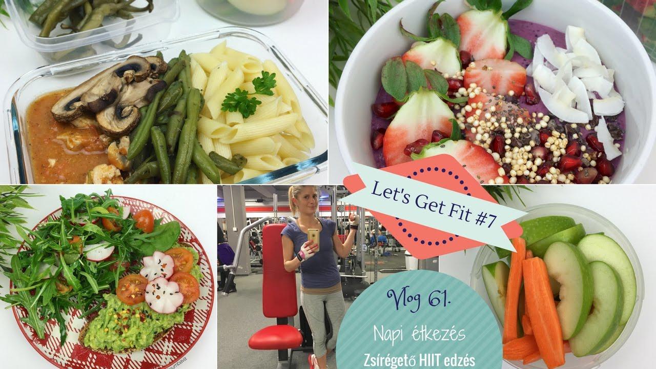 zsírvesztés napi 6 étkezés