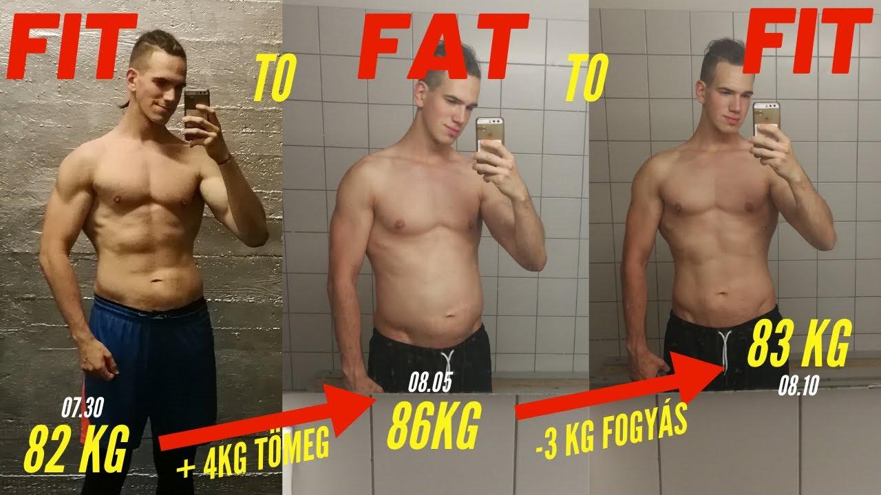 82 kg fogyás