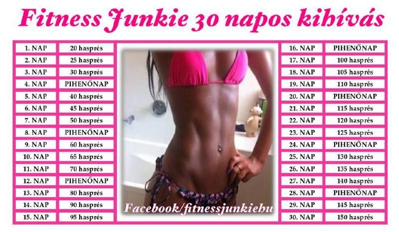 30 napos súlycsökkentő kihívás előtte és utána