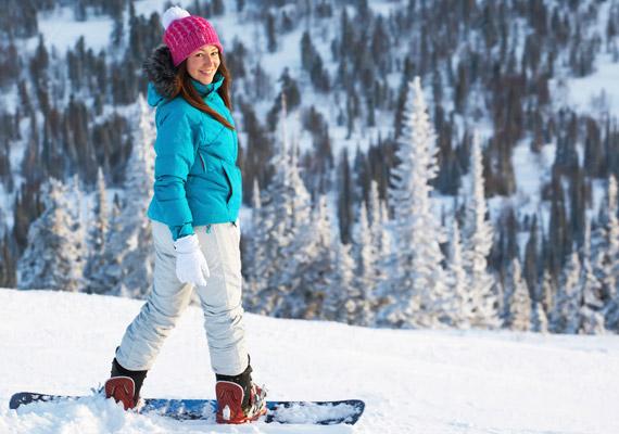 snowboardozás fogyni